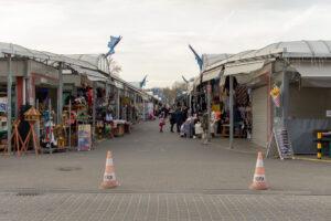 Przebano 1025 osób pracujących na słubickim bazarze. Fot. Sebastian Kozłowski