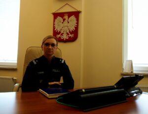 podinsp. Bogumiła Malinowska, p.o komendant Komendy Powiatowej Policji w Słubicach