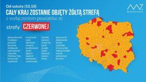 Żółta Strefa W Całej Polsce. Fot. Ministerstwo Zdrowia