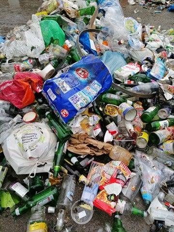 Tak Wygladaly Zebrane Odpady Z Kategorii Szklo 1