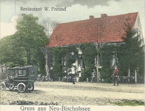 Gospoda w Neu Bischofsee (początek XX-go stulecia)