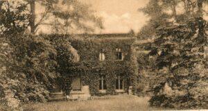 Pałacyk w Serbowie. Obecnie budynek niestety już nie istnieje