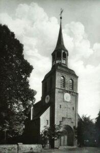 Kościół w Białkowie na przedwojennej fotografii