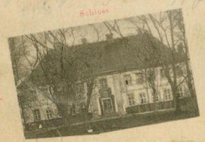 Pałac w Białkowie przed wybuchem drugiej wojny światowej