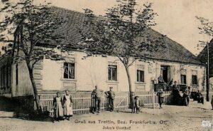 Gospoda w Drzecinie. Zdjęcie wykonano przed wybuchem pierwszej wojny światowej. Źródło- polska.org